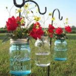 Необычные вазы для цветов на свадьбу.