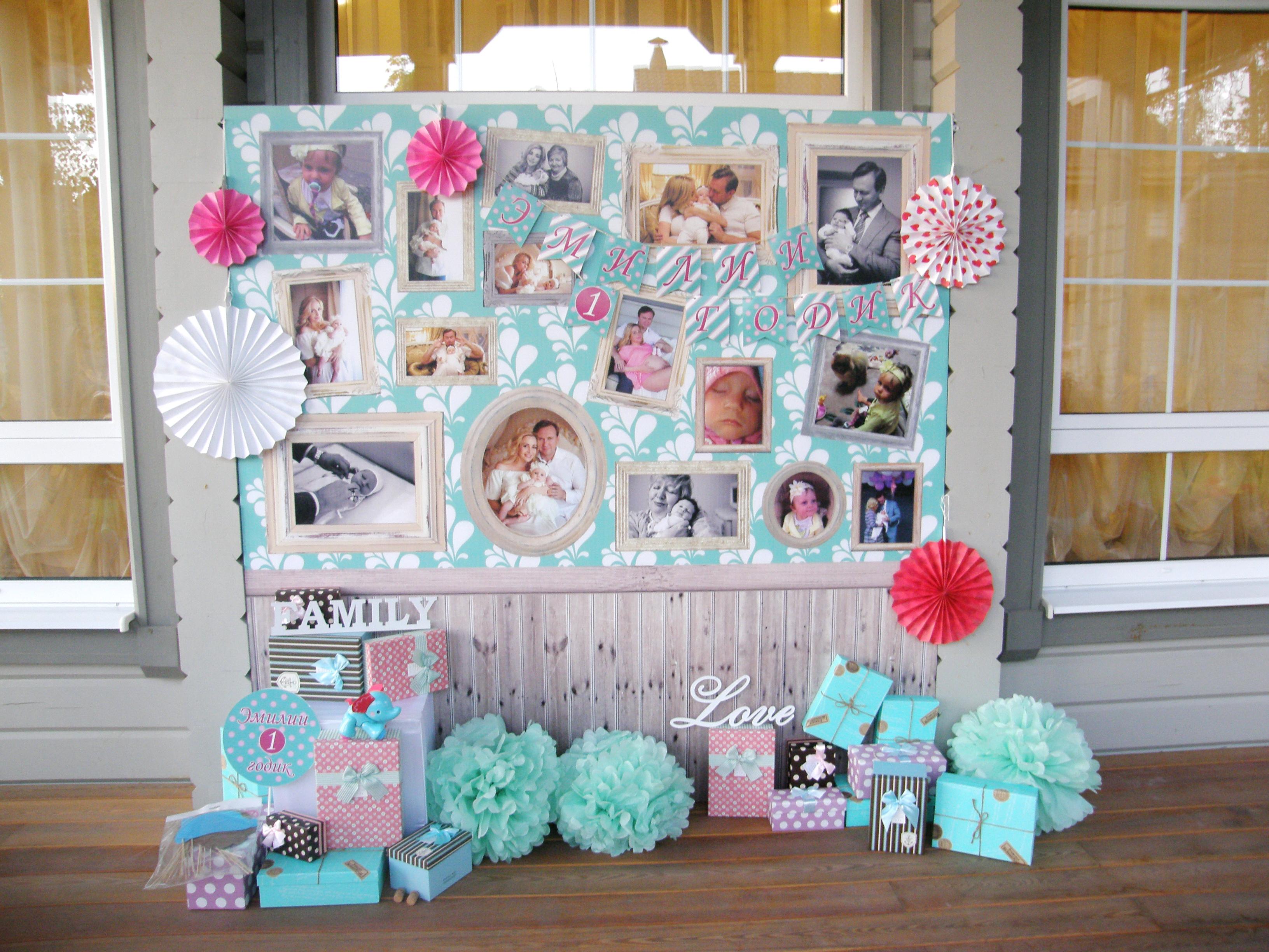 Фотозоны для детского дня рождения своими руками