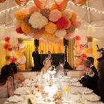 Свадебный декор из бумаги — тренд сезона!
