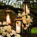 Свечи в декоре свадеб.