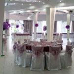 Оформление свадьбы большими цветами