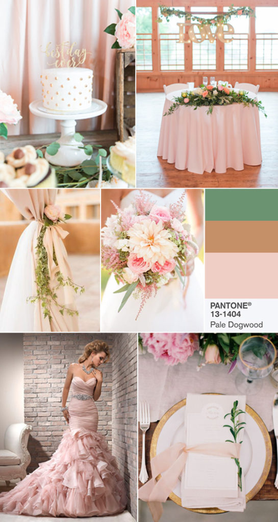 цвет свадьбы 2017