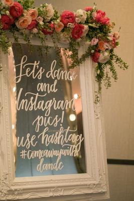 зеркало на свадьбе