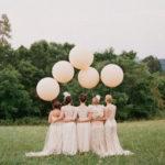 Большие воздушные шары для свадебной фотосессии
