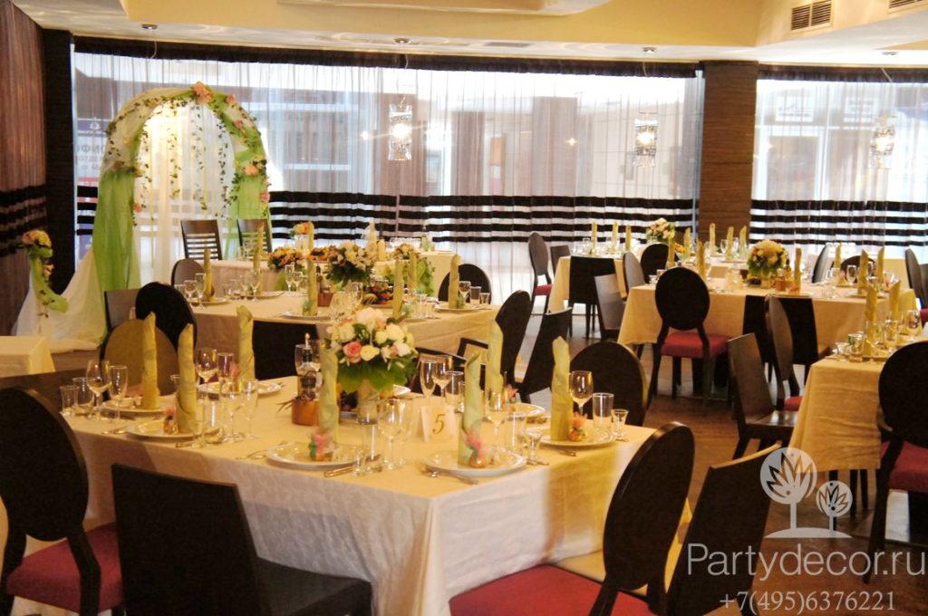 свадьбы в ресторане Esca