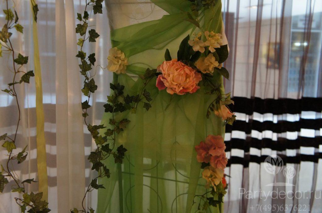 оформление свадьбы в ресторане Esca