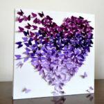 Украшение свадьбы бумажными бабочками