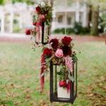 Свадебный декор популярного цвета — Марсала.