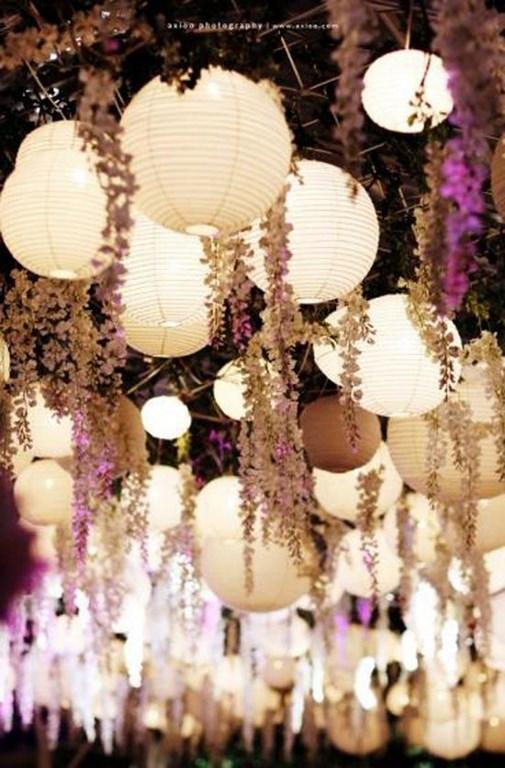 абажур украшение свадьбы