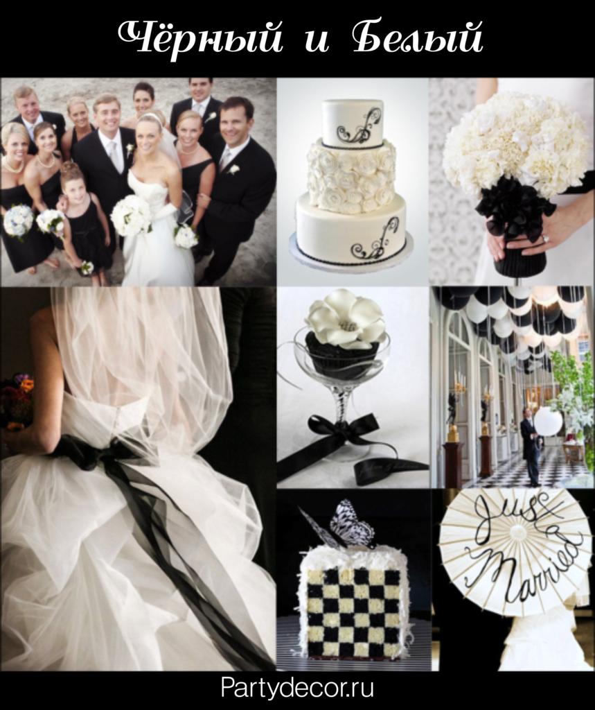 самых популярные свадебные расцветки