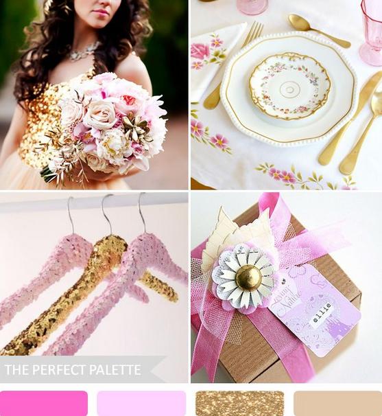 идеи свадебных палитр