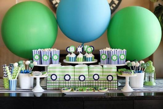 воздушные шары для сладкого стола