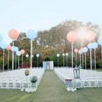 5 способов использовать большие воздушные шары на свадьбе!