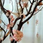 Яркая идея для свадьбы — орхидейное дерево!