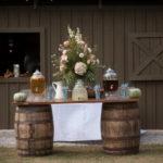 Винные бочки на свадьбе