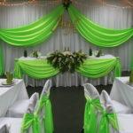Украшение зала на свадьбу. Виды и правила.