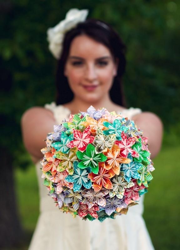 оригами свадьба