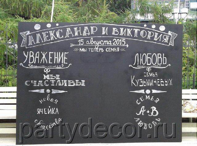 аренда меловой доски
