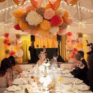Свадебный декор из бумаги