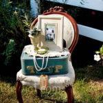 Сундуки и чемоданы в декоре свадьбы