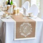 Дорожки для свадебного стола — ТОП-7 необычных идей