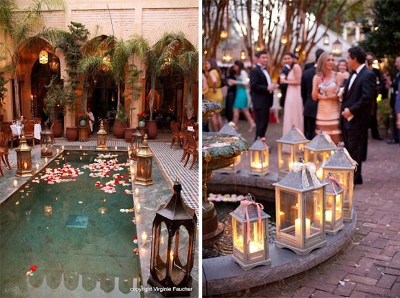 украшение фонтана и бассейна
