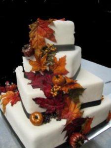 осеннее свадебное угощение