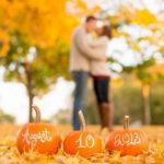 Десять вариантов оформления осенней свадьбы