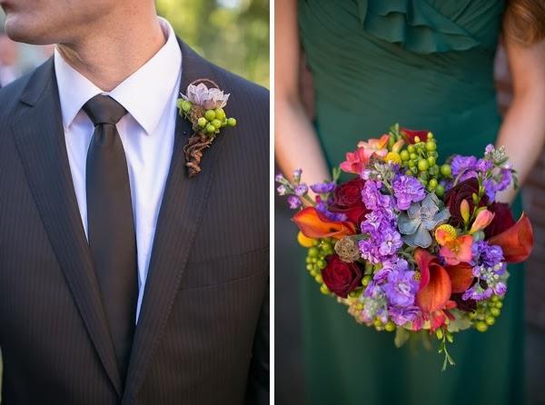 декор осенней свадьбы