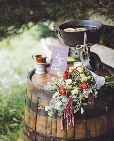идеи осенней свадьбы
