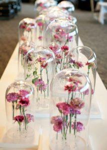 Стеклянные колпаки в декоре