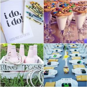 Детские фотоаппараты, воздушные шары, свадебные раскраски и еще идей которые часто использую, чтобы занять детей, на свадьбах в Европе. Дети