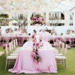 Как украсить столы на свадьбе?