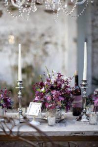 Столы на свадьбе