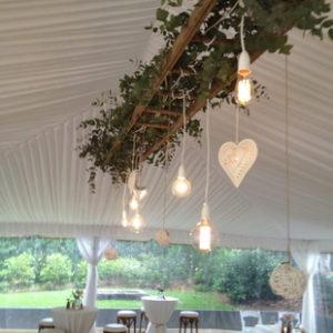 стремянки и лестницы в декоре свадьбы
