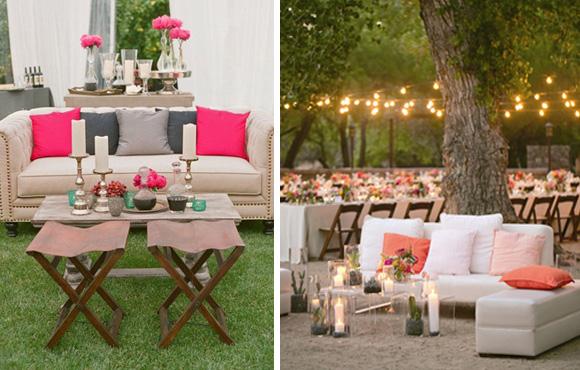 свадьба зона отдыха