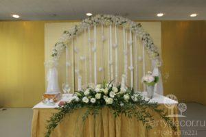 украшение ресторана на свадьбу
