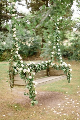 Качели для свадебной фотосессии в Москве