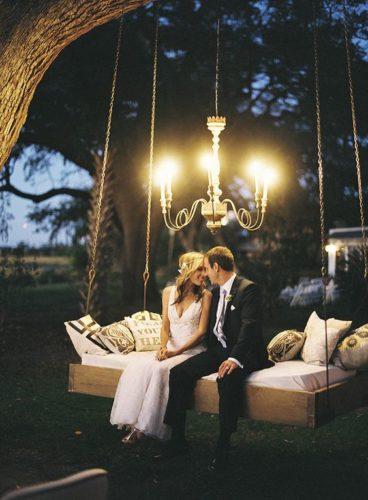 Качели для свадебной фотосессии в аренду в Москве
