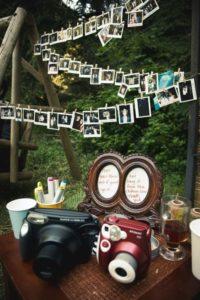 Polaroid - идеи свадебного декора