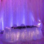 Драпировка тканями на свадьбу
